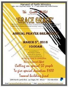 Harvest of Faith Prayer Breakfast March 5th 2016